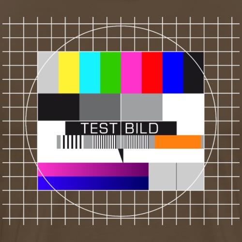 Testbild Fernsehtestbild BIG BANG - Men's Premium T-Shirt