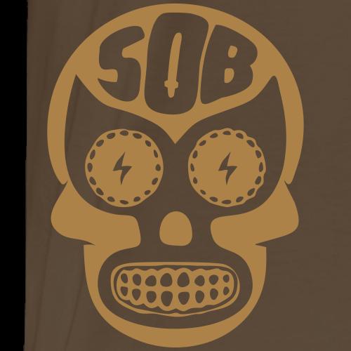 SOB skull - Koszulka męska Premium