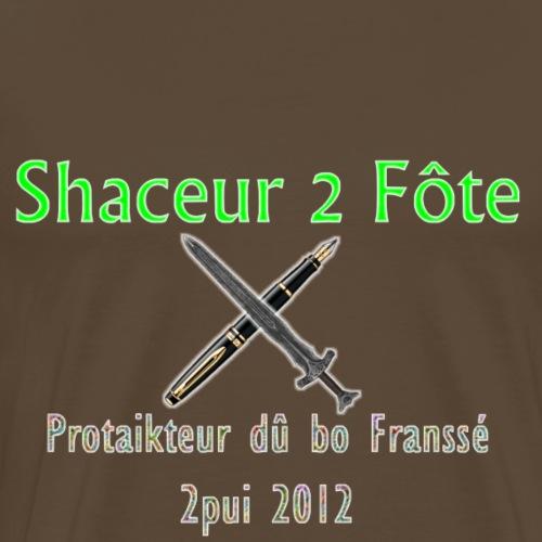 Shaceur 2 Fôte - T-shirt Premium Homme