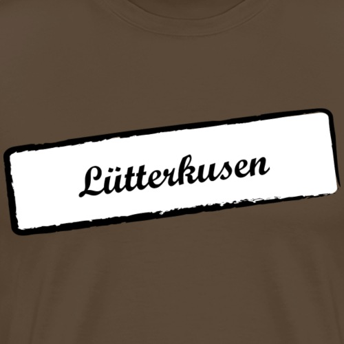 Stempel Lütterkusen - Männer Premium T-Shirt