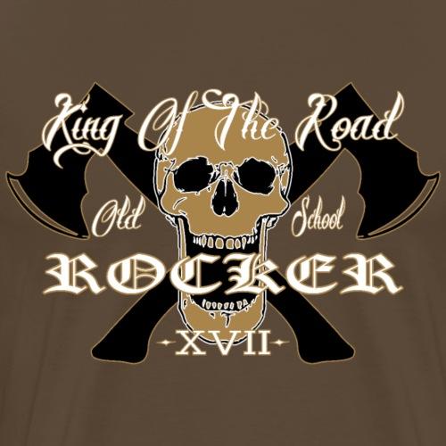 Old School Rocker Gold - Männer Premium T-Shirt