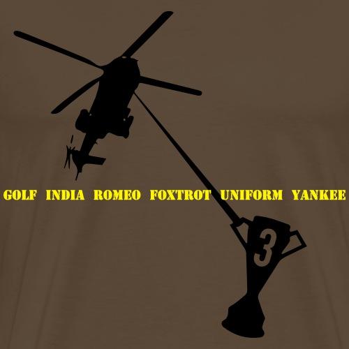 Helicopter Thursday - Men's Premium T-Shirt
