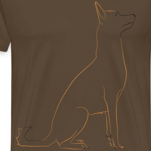Berger Belge Malinois - T-shirt Premium Homme