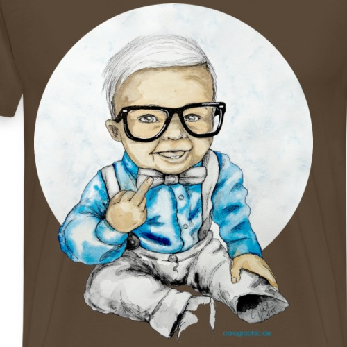 Naughty Boy, carographic - Männer Premium T-Shirt
