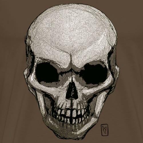 Crâne - T-shirt Premium Homme