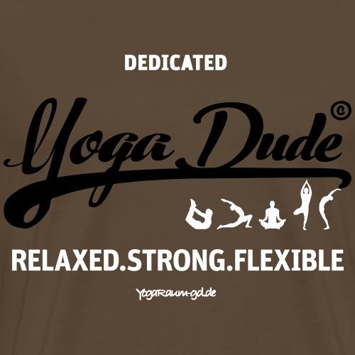 Herren Shirt Yoga Dude - Männer Premium T-Shirt