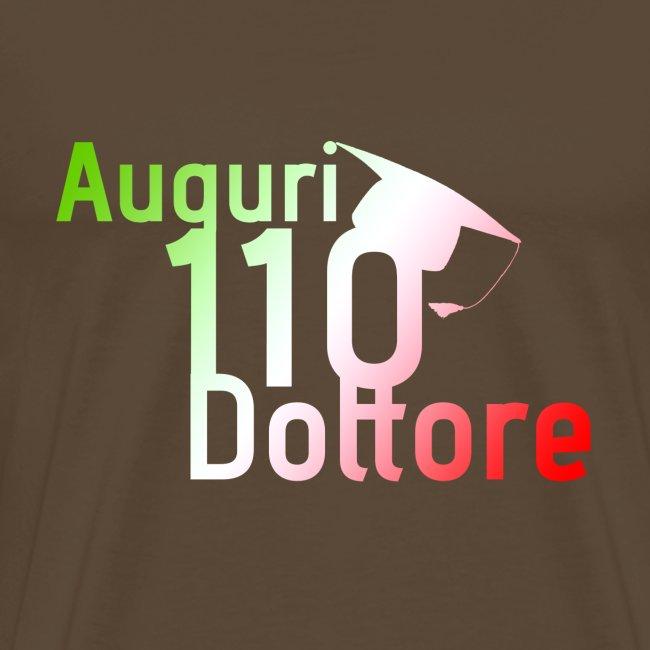 Auguri 110 Dottore Tricolore