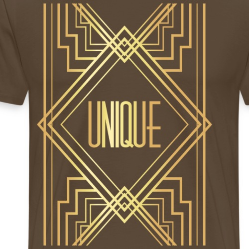 Fourth Golden Geometric - Men's Premium T-Shirt