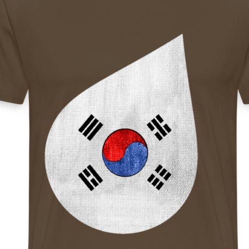 Corée du sud - T-shirt Premium Homme