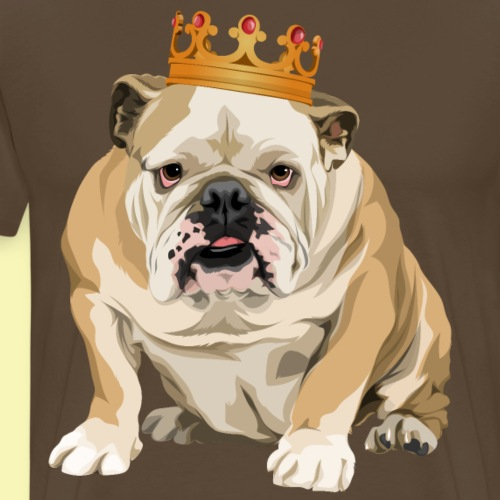 The real King - Men's Premium T-Shirt