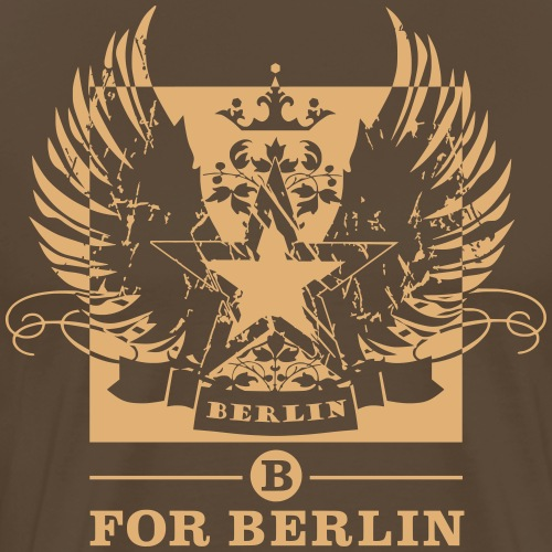 B for Berlin STAR LOGO