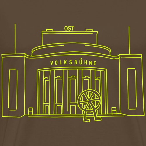 Volksbühne Berlin - T-shirt Premium Homme