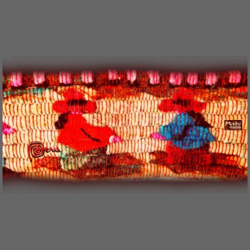 Dos Paisanitas tejiendo telar inca - Camiseta premium hombre