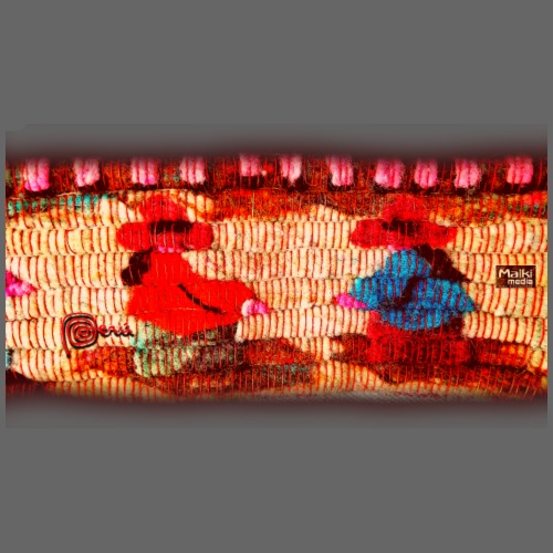 Dos Paisanitas tejiendo telar inka - Männer Premium T-Shirt