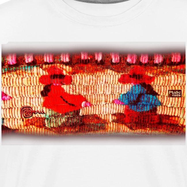 Dos Paisanitas tejiendo telar inca