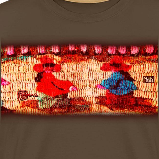 Dos Paisanitas tejiendo telar inka