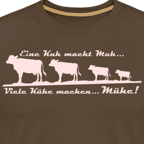Kühe - Männer Premium T-Shirt