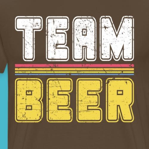 Team Bier Vintage Retro Team Design Beer