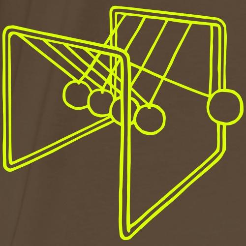 Kugelstoßpendel - Männer Premium T-Shirt