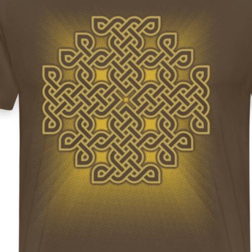 Celtic Jerusalem Cross - Men's Premium T-Shirt