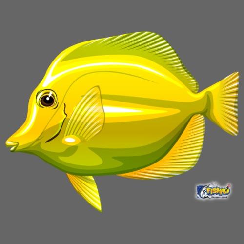 FISHAO Yellow Tang - Männer Premium T-Shirt