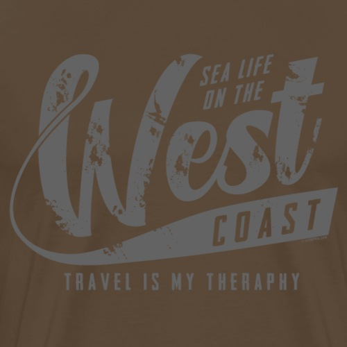 West Coast Sea surf clothes and gifts GP1306B - Miesten premium t-paita