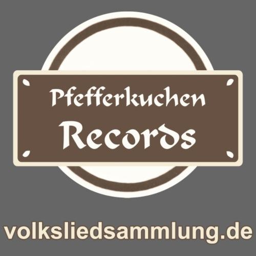 Pfefferkuchen Records Label - Volksliedsammlung - Männer Premium T-Shirt