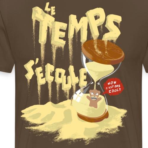 Le Temps C est Cool - Men's Premium T-Shirt