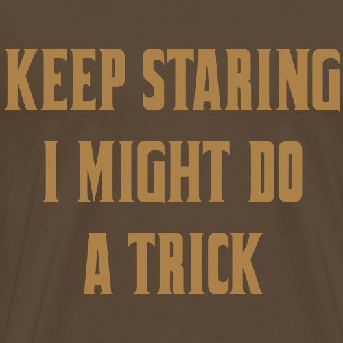 Staring4 - Mannen Premium T-shirt