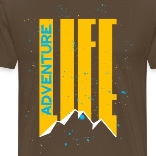 Adventure Life Wandern Klettern Mountain Outdoor - Männer Premium T-Shirt