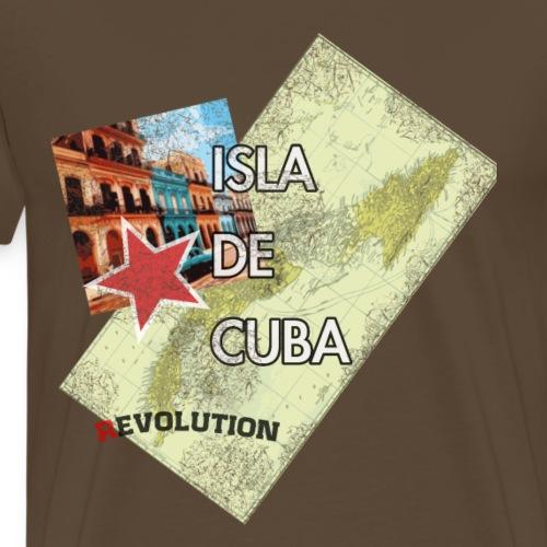 Isla de Cuba summer beach T-Shirt - Men's Premium T-Shirt