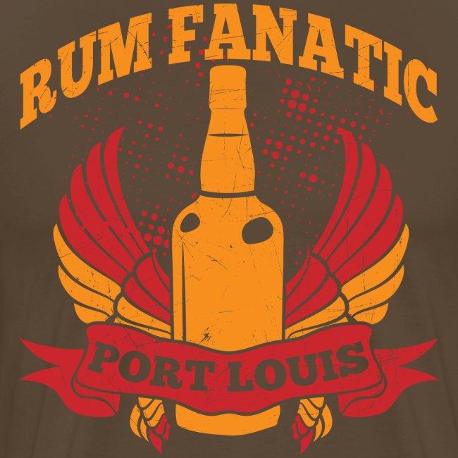 T-shirt Rum Fanatic - Port Louis, Mauritius