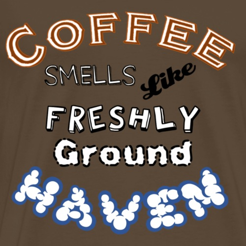 Coffee - Haven - WS - Männer Premium T-Shirt