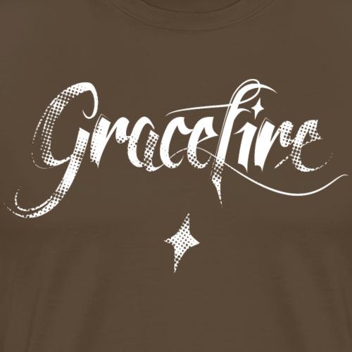 Gracefire Special Logo white - Männer Premium T-Shirt