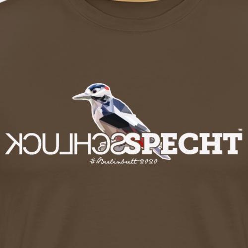 SCHLUCKSPECHT - Männer Premium T-Shirt