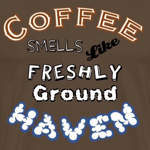 Coffee - Haven - WS - Männer Premium T-Shirt