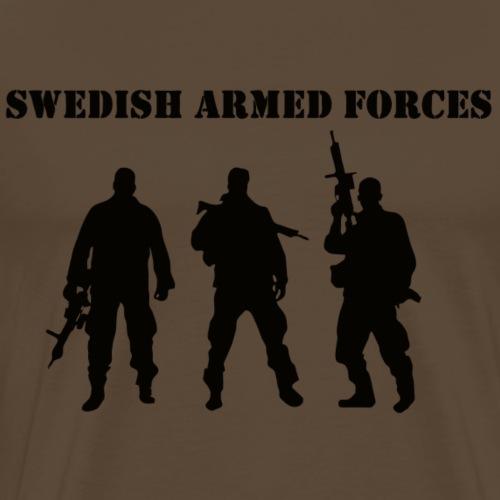 SAF SWE BLACK - Premium-T-shirt herr
