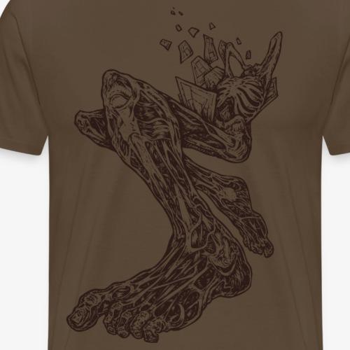 Eclatement (brun) - T-shirt Premium Homme