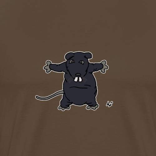 Henkie den plyschråttan - Premium-T-shirt herr