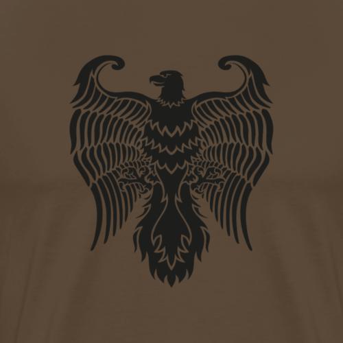 HAUKKA ei tekstia - Miesten premium t-paita