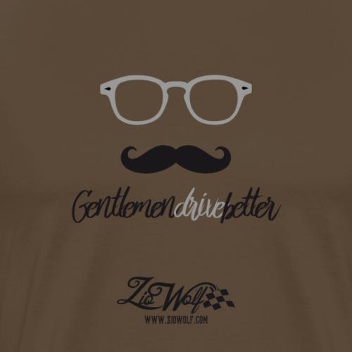 Gentlemen Drive Better - ZioWolf - Maglietta Premium da uomo
