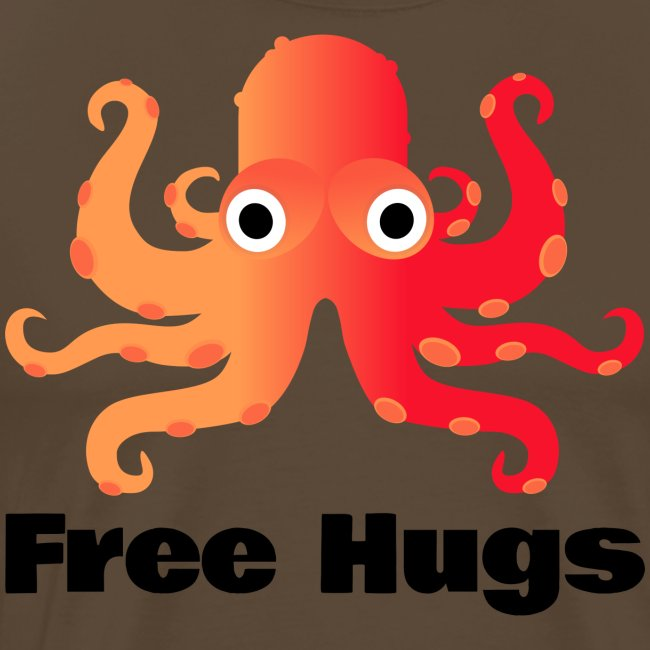 Free Hugs from King Octopus