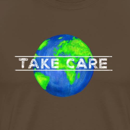 Gib Acht auf unsere Erde! - Männer Premium T-Shirt