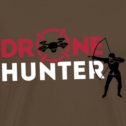 Chasseur de Drones - T-shirt Premium Homme