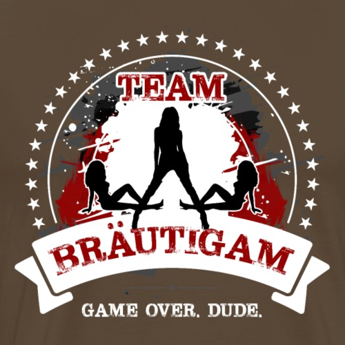 Team Bräutigam - Männer Premium T-Shirt