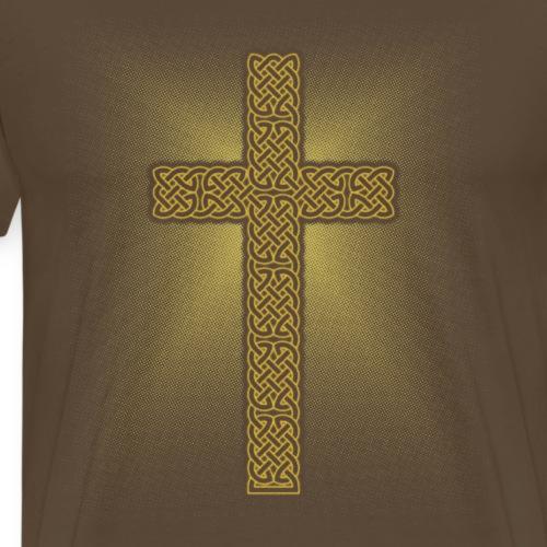 Celtic Knot Cross - Men's Premium T-Shirt