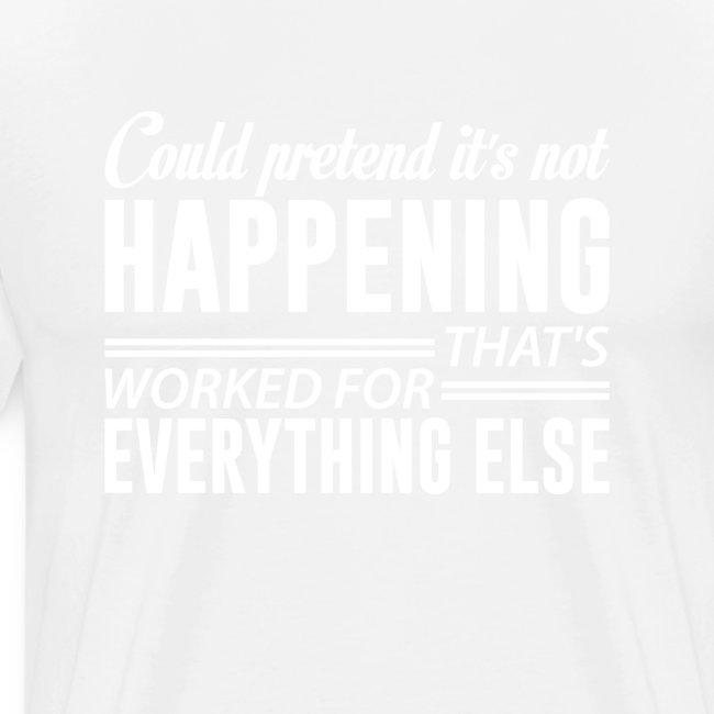 could pretend