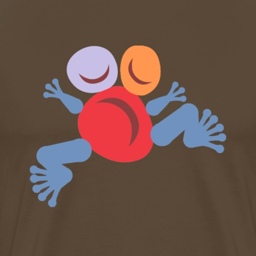 Frog Red Totem - T-shirt Premium Homme