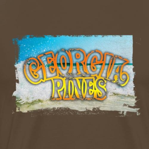 Georgia Pines Band Shirt Welle Rahmen - Männer Premium T-Shirt