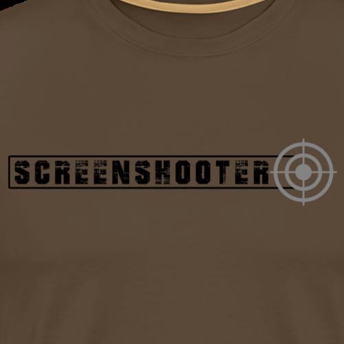 Screenshooter - Männer Premium T-Shirt